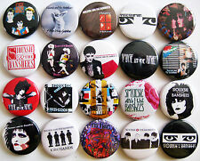 SIOUXSIE AND THE BANSHEES Kiss in the Dreamhouse Punk Button Badges Lot of 20