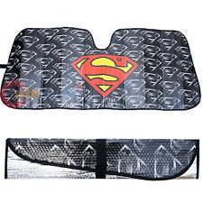 DC Comics Supreman Shield Logo Front Window Sun Shade Car Windshield
