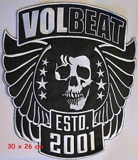VOLBEAT- 2001  back patch - FREE SHIPPING
