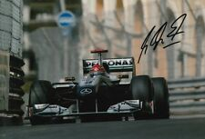 Michael Schumacher Formula One World Champion firmado 12x8 pulgadas laboratorio fotografía impresa