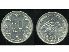 ETATS  AFRIQUE  CENTRALE 50 francs 1979 E