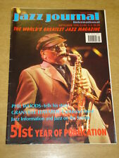 JAZZ JOURNAL INTERNATIONAL VOL 51 #9 1998 SEPTEMBER PHIL WOODS GRANVILLE EDWARDS