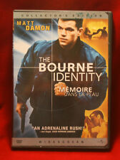 DVD - The Bourne Identity (2002, Collector's, Widescreen, French Edition)