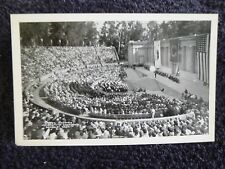 1930's RPPC Greek Theatre, U. of California in Berkeley, Ca PC Rare