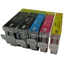 5 astillados Impresora Cartuchos De Tinta Para Canon Pixma Ip4200