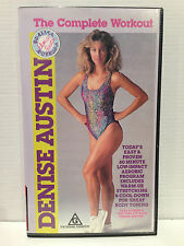 DENISE AUSTIN ~ THE COMPLETE WORKOUT ~ LOW IMPACT AEROBIC PROGRAM ~ VHS VIDEO