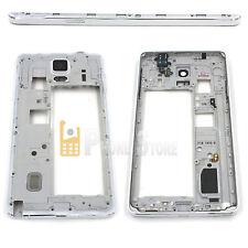 Original Samsung Galaxy Note 4 N910F Mittelrahmen Gehäuse Frame RAHMEN Weiß NEU