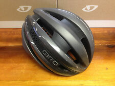 Giro Synthe - Matte Titanium/Silver - Cycling Helmet - Small