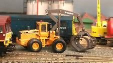 Volvo Timber Grab Loader L180C Atlas Motorart 1:87 HO/OO/00 Model for OTA Wagon