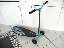 New boxed Pulse Slither 3 wheel Drift Scooter Blu/Blk Grn/Wht Bargain 2 4 £50del