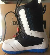 *NIB*2015 BURTON INVADER MEN'S SNOWBOARD BOOTS*WHITE/BLACK/BLUE*SZ 11