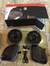 "2015-17 HARLEY ROAD GLIDE AUDIO STAGE 2 FAIRING SPEAKERS 6.5"" BOOM! In Box"