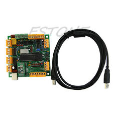 USB 4 Axis CNC Controller Interface Board CNCUSB MK1 USBCNC 2.1
