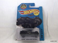 Hotwheels BATMAN ARKHAM KNIGHT BATMOBILE 61/250 HW CITY made in Malaysia
