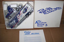 Coors Light Bill Elliott American Racing Scene #5 Winross Diecast Trailer Truck