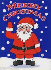 Navidad aferrarse Vinilo coche ventana calcomanía-Santa Claus saludando Cc7