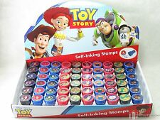 12 Birthday Party Favors DISNEY TOY STORY Self Ink Stamps Stampers