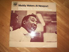 MUDDY WATERS AT NEWPORT ! VG++ 1960! 1st PRESS MAL 661 MADE IN ENGLAND! MEGARARE