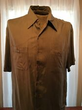 Havana Jacks Cafe, Size LG Mens  Green Shirt    H