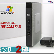 Klein mini ordenador PC AMD 2100+ Windows 7 XP Pro home SSD 2gb rs-232 dual video