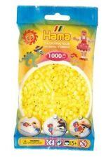 Hama - 207-43 Sachet 1000 Perles à repasser Jaune pastel