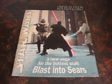 Star Wars--Sears Catalog--Newspaper Advertising Supplement--40 Pages--1999--VHTF