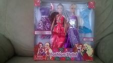 Lovely Patsy Fashion Stylist Barbie Doll with Extra Outfit Age 3+