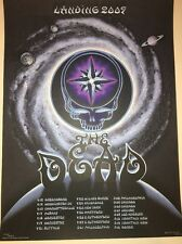 EMEK The Dead Spring Tour 09 Grateful Dead  Poster Art Print
