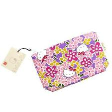 New Hello Kitty Sakura Cherry Blossoms Pouch Purple from JAPAN