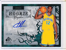 2006-07 UD SP SIGNATURE HILTON ARMSTRONG AUTO RC 32/50