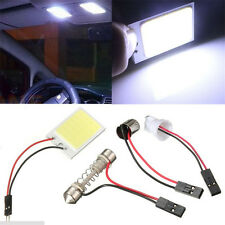 Useful Car Interior Light Panel COB 24 SMD LED T10 Dome Bulb BA9S Adapter