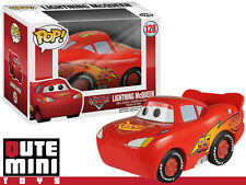 FUNKO POP! DISNEY PIXAR CARS LIGHTNING MCQUEEN #128 VINYL TOY FIGURE - IN STOCK