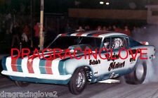 "Ray Alley 1969 ""Engine Masters"" Plymouth Cuda NITRO Funny Car Nite time PHOTO!"