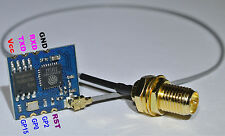 ESP 8266-02 inc. RP-SMA Pigtail (ohne Antenne) Arduino STM32 WiFi Wlan Wireless