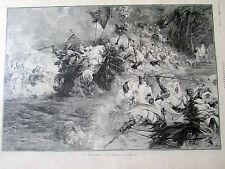 CLAIRIN G / FANTASIA AU MAROC / 1894 / SC 1365 / ILLUSTRATION ANCIENNE