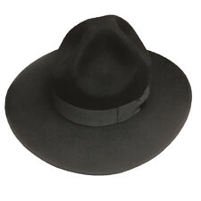 Campaign Hat Military Black Wool Felt EPOCH / he50 L/XL