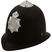 5/6/10/12 Children's Fancy Dress Police Helmet Officer Kids Hat