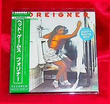 FOREIGNER Head Games JAPAN MINI LP CD WPCR-12563 11 TRACKS DIGITAL REMASTER