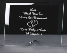 personalised engraved glass plaque, mothers day gift, mum, nan gifts new design