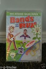 Bands on the Run DVD 2011 NEW/SEALED ANIMATED FOR KIDS FREE SILLY BANDS W/ DVD