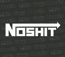 NOSHIT nos style Decal Funny Car Truck vinyl Sticker JDM racing window decal
