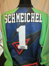 Schmeichel #1 Manchester United 1993-1994 Goalkeeper Football Shirt XL (32207)