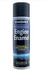 Simoniz Matt Black Engine Enamel Paint Motorcycle Scooter Bike Trike Cylinder