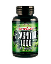 ACTIVLAB L-Carnitine 1000 30 caps Slimming Diet FATBURNER TurnFat Weight Loss