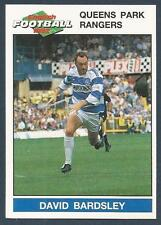 PANINI FOOTBALL 92-#183-QUEENS PARK RANGERS-OXFORD-WATFORD-DAVID BARDSLEY