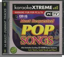 Karaoke CD+G - Most Requested Pop Songs - New 14 Song CD! Are You Happy Now?