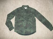 AMERICAN EAGLE OUTFITTERS Vintage AEO CAMO Quilted JACKET Mens Size SMALL  NEW