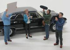 4 x Figuren ( Kamera Film Crew ) American Diorama 1:18