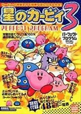 Kirby's Dream Land 3 Perfect program book / SNES