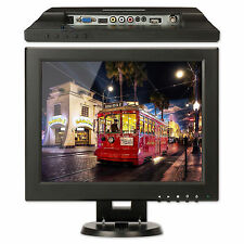 "12"" Inch HDMI/BNC/AV/VGA Input 4:3 /16:9 TFT LCD Monitor Computer Display Screen"